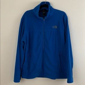 North face jacket large is worn very little